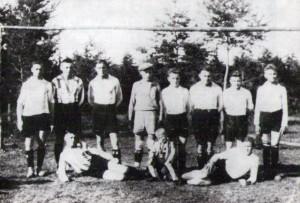 Die erste Elfershäuser Mannschaft aus dem Gründungsjahr